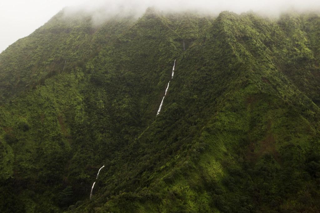 lush green mountains