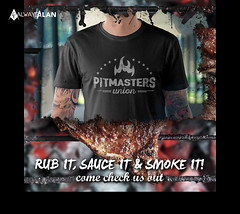 Creating to Establishing a Brand, Pitmasters Union: Graphic Design, Shopify Store to Marketing!
