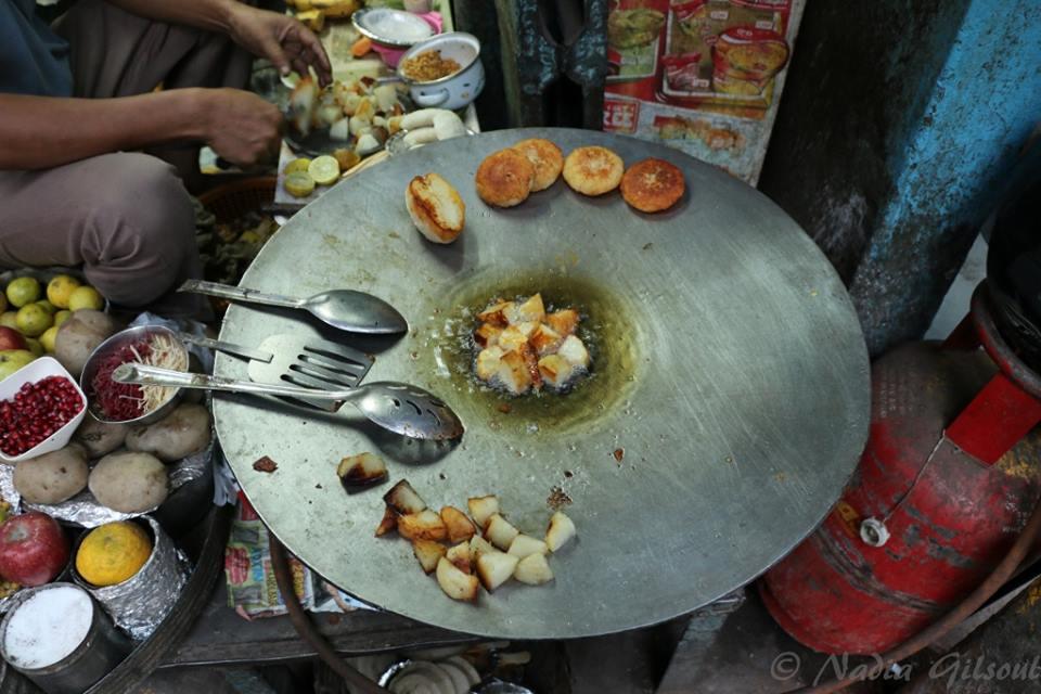 A small street food shop