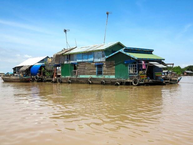 Excursion al Lago cerca de Siem Reap
