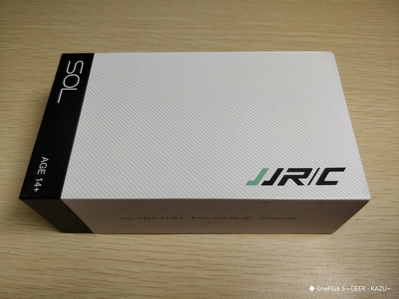 JJRC H49 SOL 激安ドローンレビュー (2)