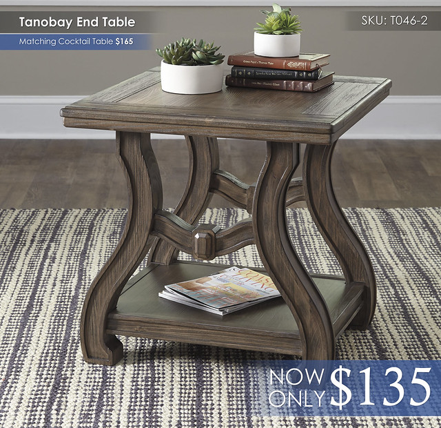 Tanobay End Table T046-2