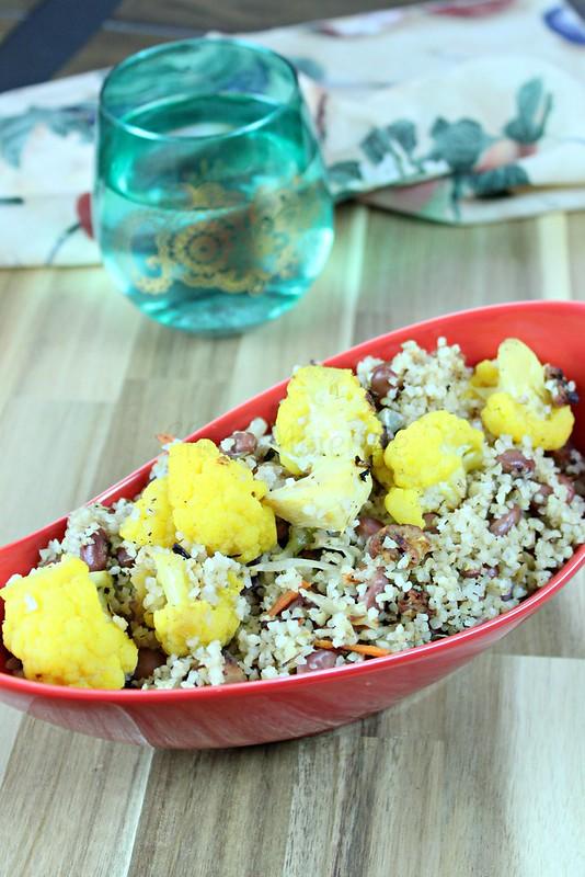 Cauliflower pilaf -edit