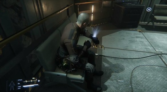 Star Citizen - Usable Chairs