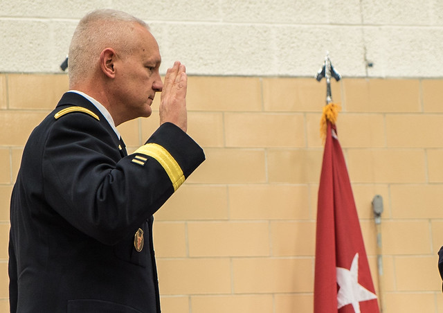 Governor Mark Dayton installs new Minnesota National Guard Adjutant General