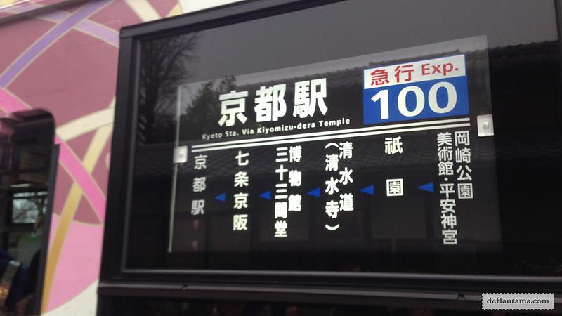 3 Hari Keliling Kyoto - Raku Bus