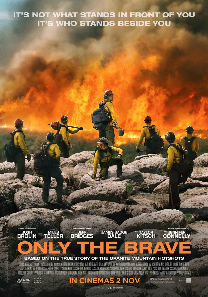 Peraduan Premiere With Budiey Filem ONLY THE BRAVE