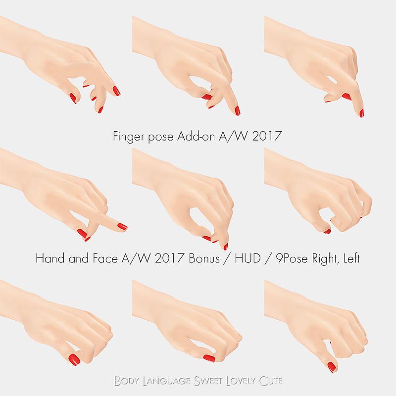 Finger Pose Addon A/W2017