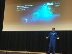 Dr Leroy Chiao Speaking in Hong Kong