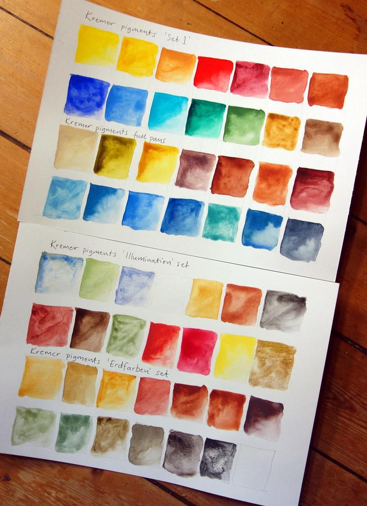 Kremer colorcharts