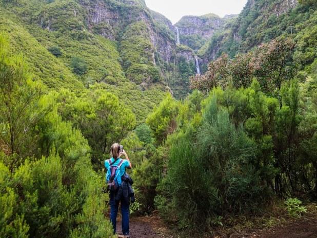 Cascadas en Madeira