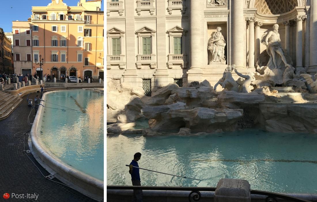 Moedas da Fontana di Trevi