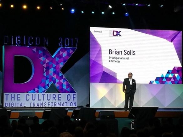 Brian Solis at #DigiCon2017