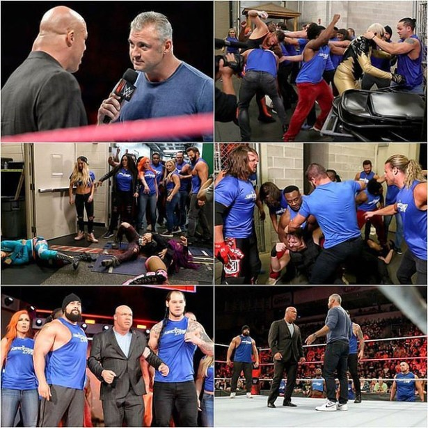 Freaking #Awesome #WWE #BlueBrand #TeamBlue #Smackdown #SmackDownLive #SDLive fired the first shot in the war by invading #RAW #ShaneMcMahon Declares RAW 'Under Siege' 💙💙💙