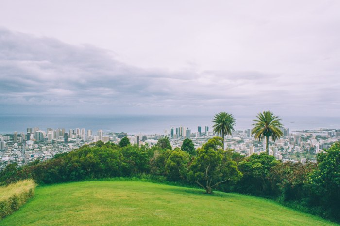 Tantalus Lookout in Oahu Hawaii