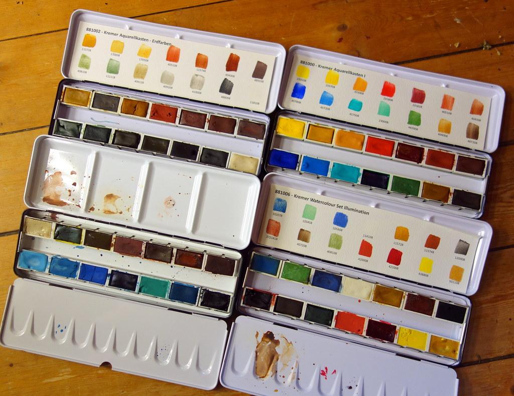 Kremer palettes