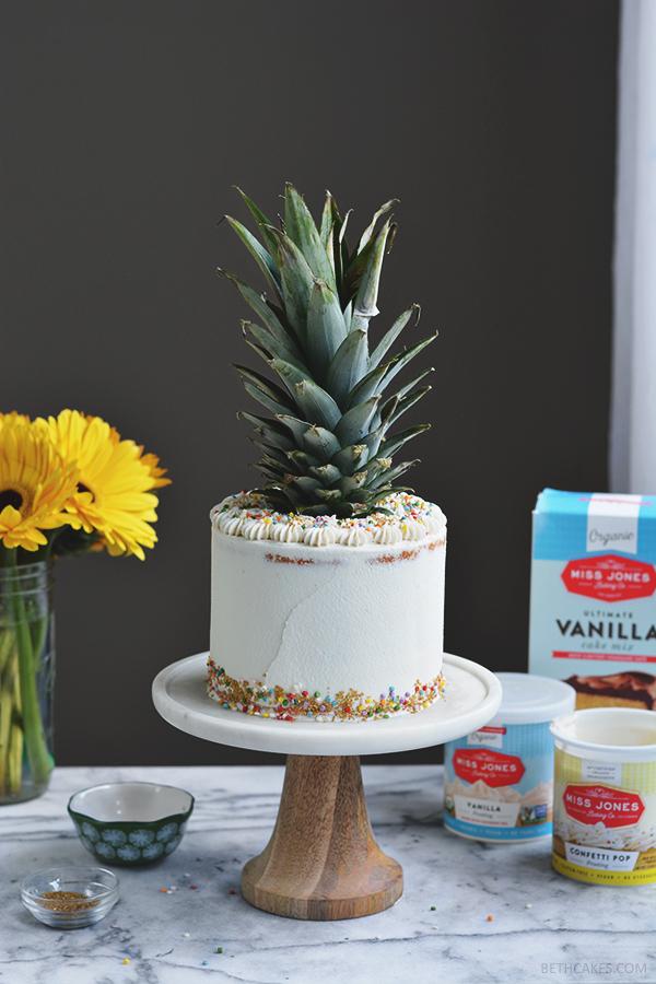 Pineapple Sunshine Cake