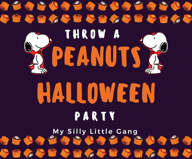Throw A Peanuts Halloween Party
