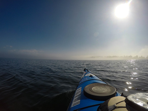 Samish Island Paddling in Fog-17