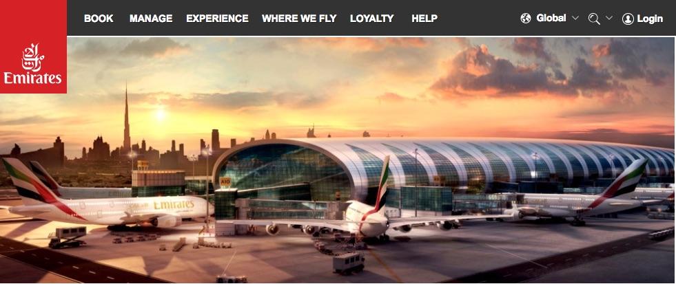 エミレーツ航空オンラインチェック