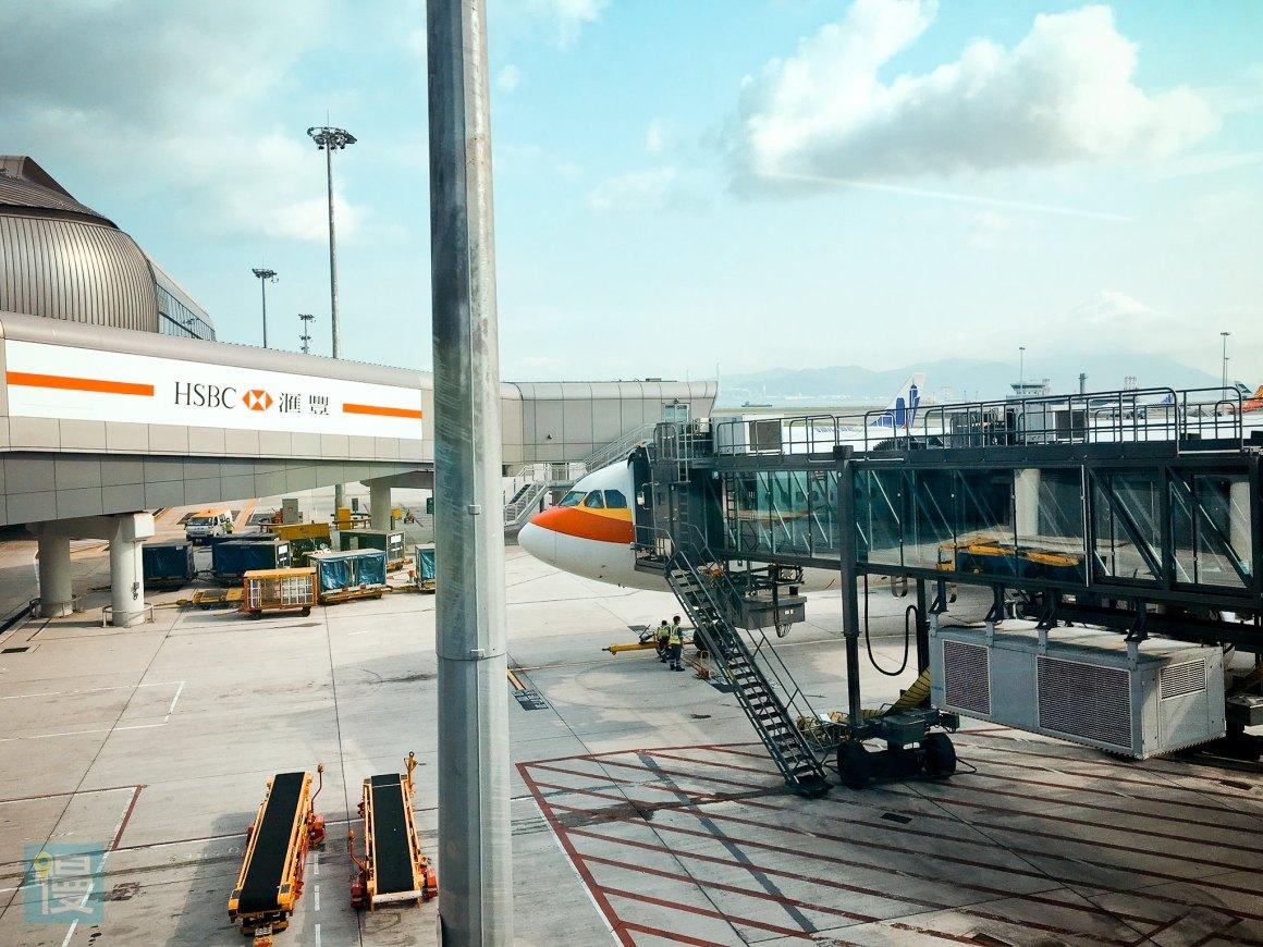 香港航空商務艙香港─札幌航線-13