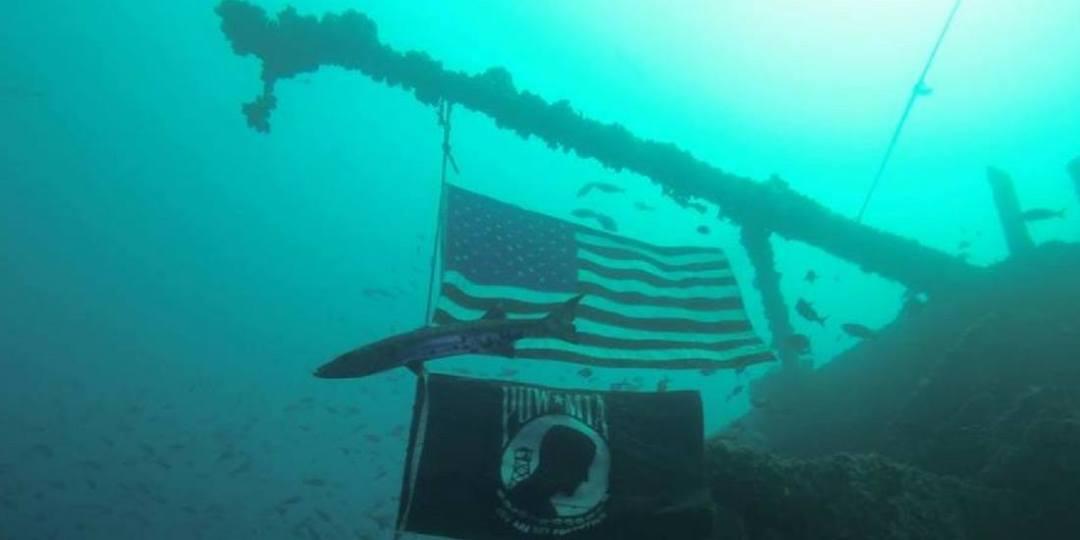 scuba diving in Oriskany Wreck, Florida