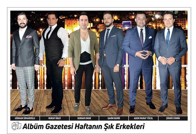 Gökhan Sipahioğlu, Murat Ünlü, Serdar Onur, Şahin Demir, Adem Murat Yücel, Şükrü Cimrin