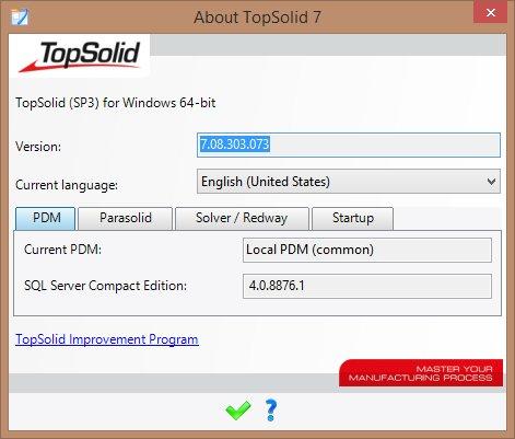 Bộ cài đặt phần mềm TopSolid v7.08 full crack