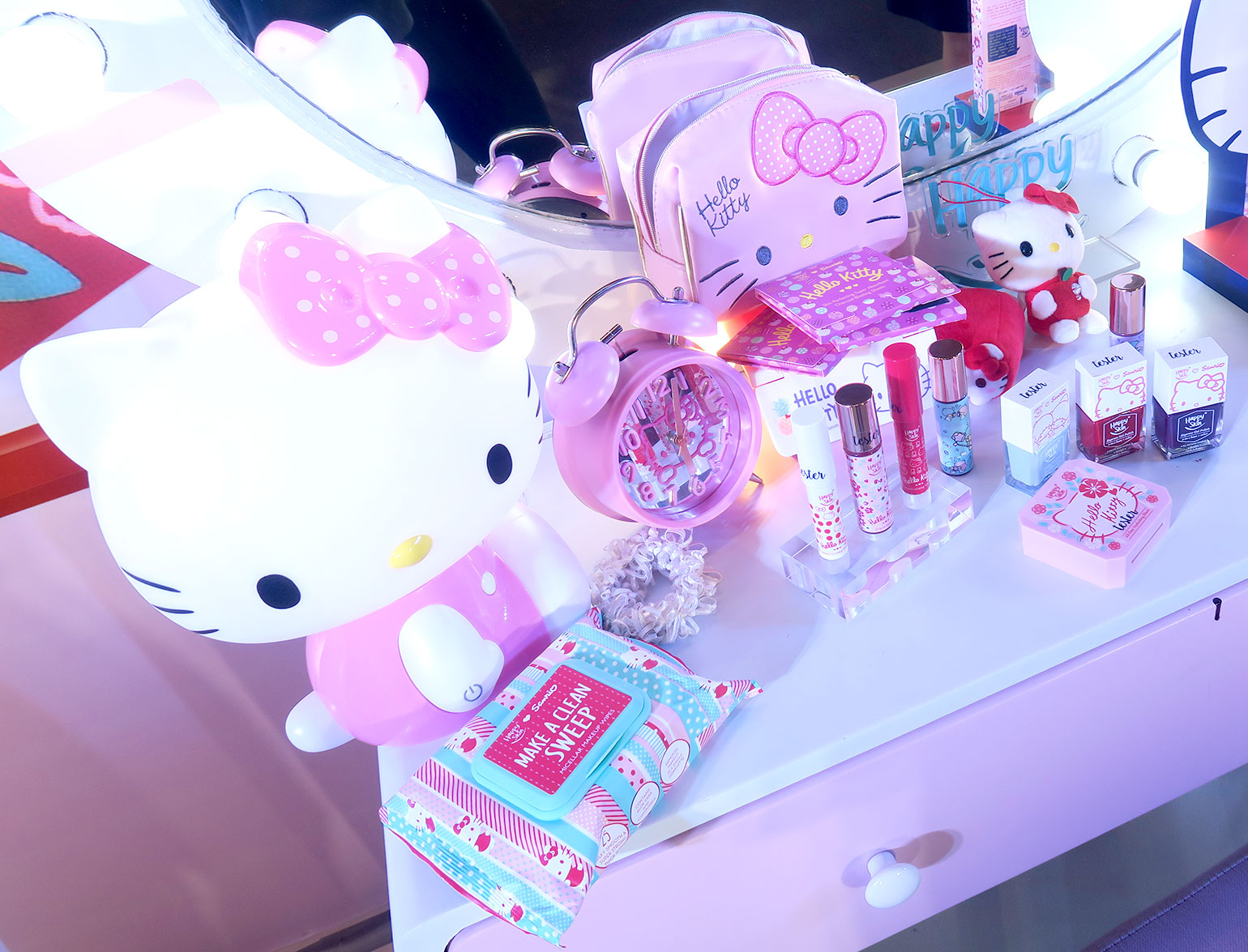 8 Happy Skin x Sanrio Characters - Grand Launch, Preview, Swatches - Gen-zel - She Sings Beauty