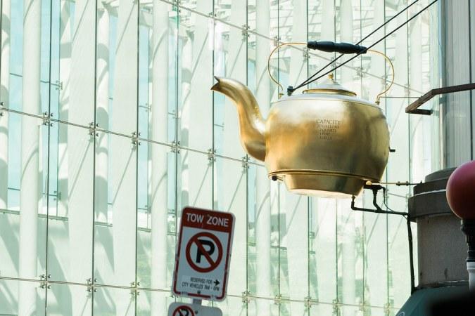 Golden Teapot - Boston