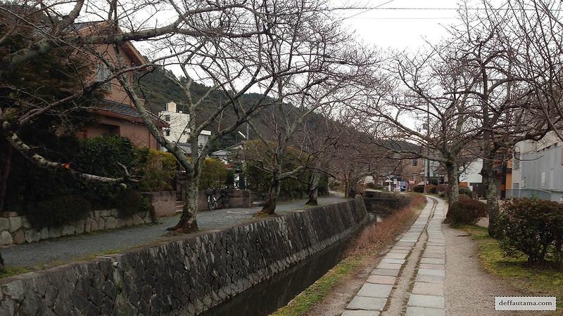 3 Hari Keliling Kyoto - Philosopher Walk