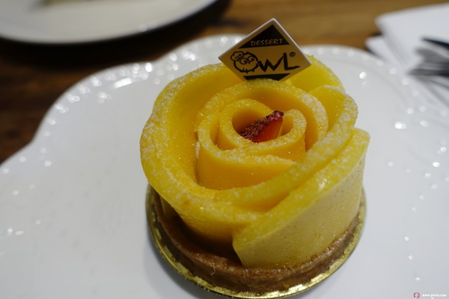 [八德美食]貓頭鷹法式手工甜點~法式甜點專賣店.手工甜點、咖啡、奶茶、茶 @VIVIYU小世界