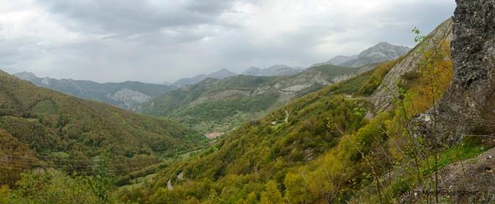 Tarna, desde el Puerto de Tarna