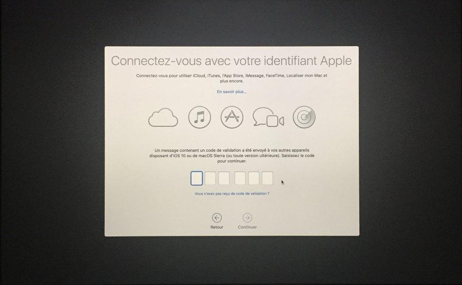 Installation mac OS Etape 00019