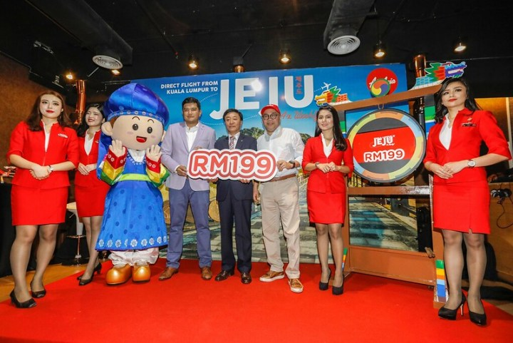 PicturAirAsia X launches exclusive direct route to Jejue 1