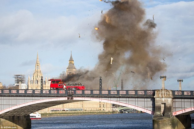 London Bus Explosion The Foreigner