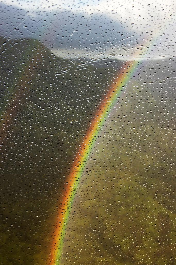 Kauai double rainbow
