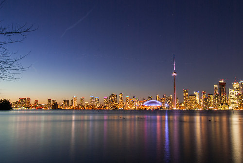 Toronto Skyline from Center Island