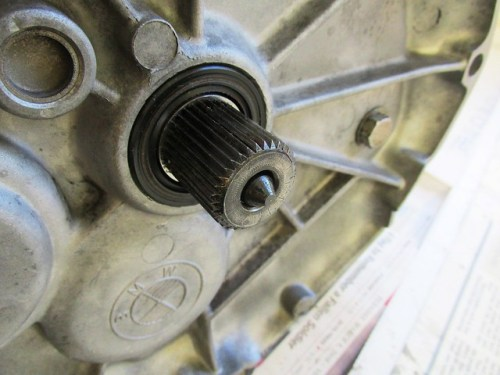 Clutch Push Rod Inserted Inside Input Shaft