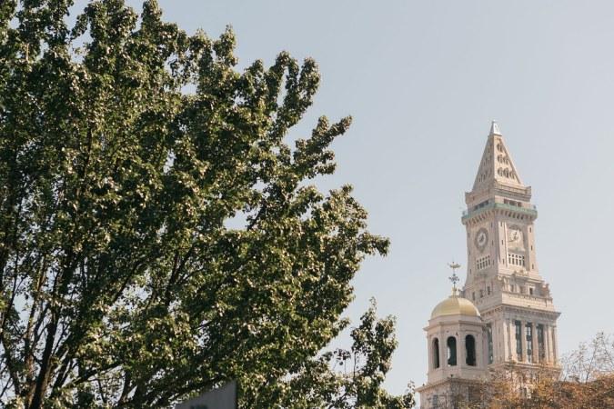 The Custom House Tower - Boston