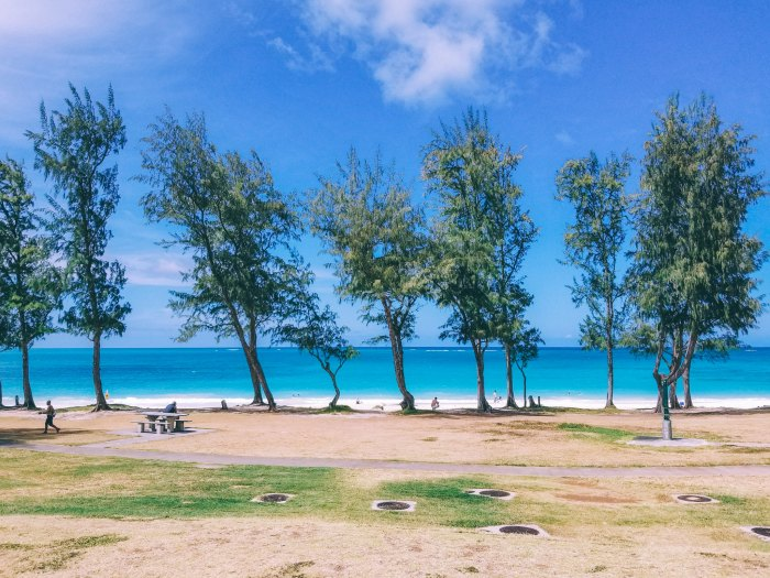 Oahu Beach Guide - A Perogy and Panda Hawaii Travel Guide - Waimanalo Beach