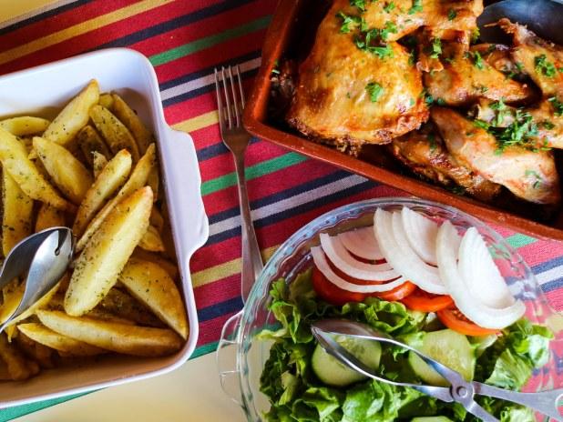 Comida en Madeira