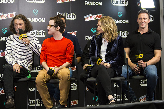 Ben Edlund, Griffin Newman, Scott Speiser, Valorie Curry, Jackie Earle Haley and Peter Serafinowicz