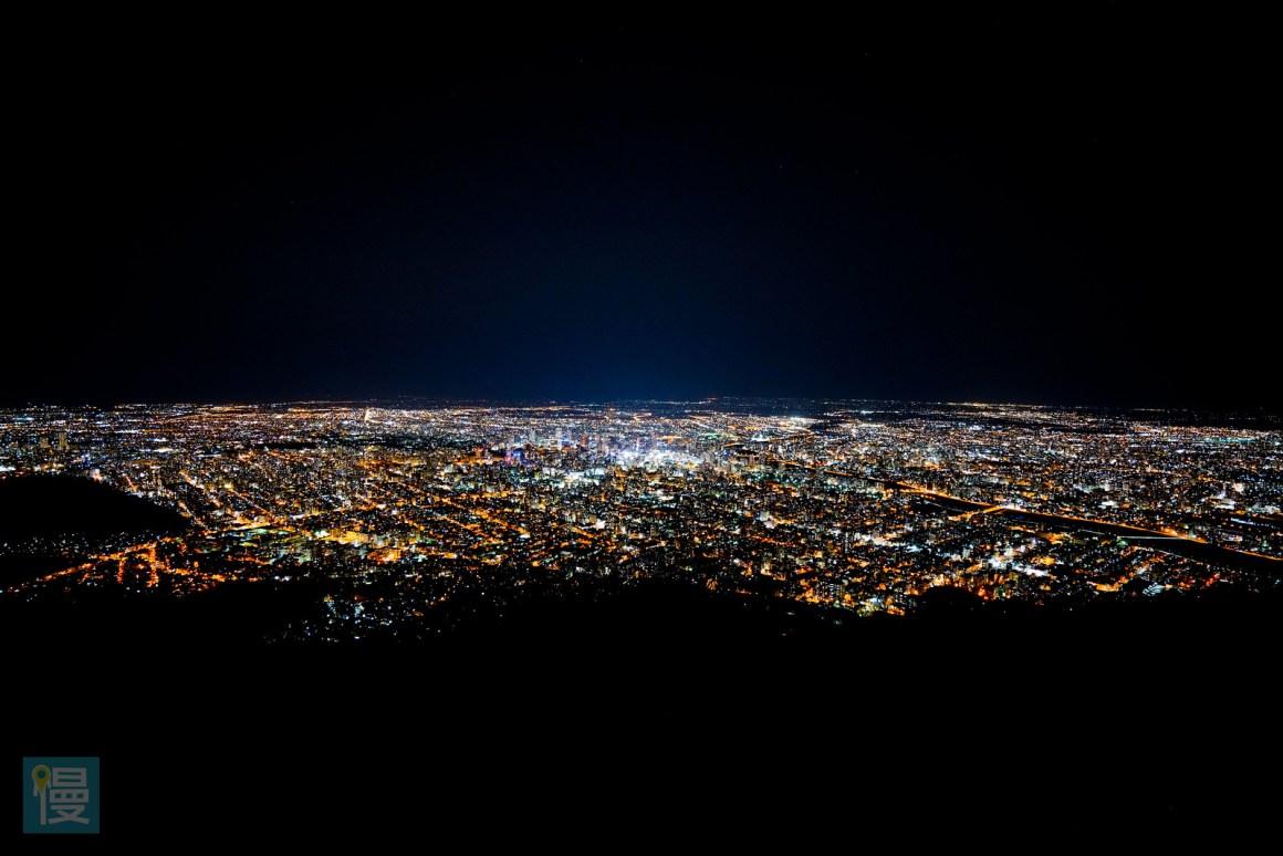札幌藻岩山展望台夜景-72