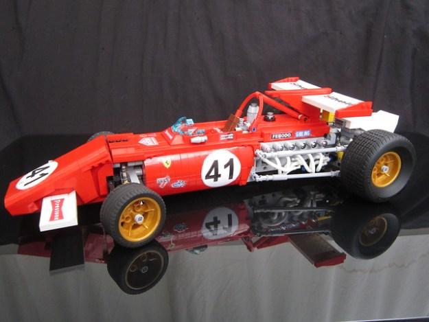 1:8 scale Ferrari 312B Lego by Greg998