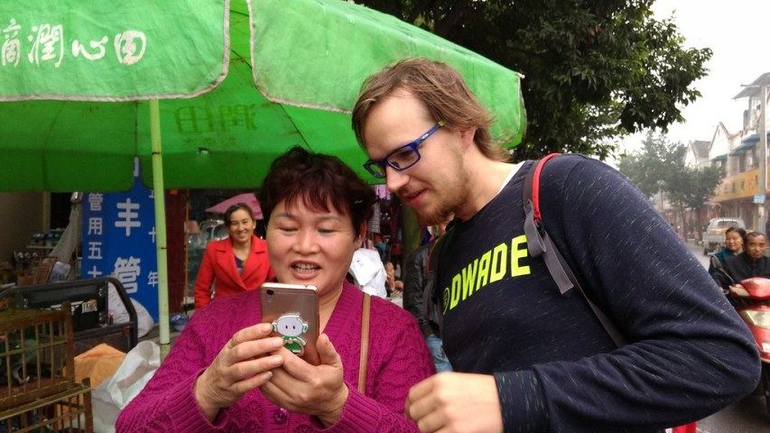 Longxing on market day