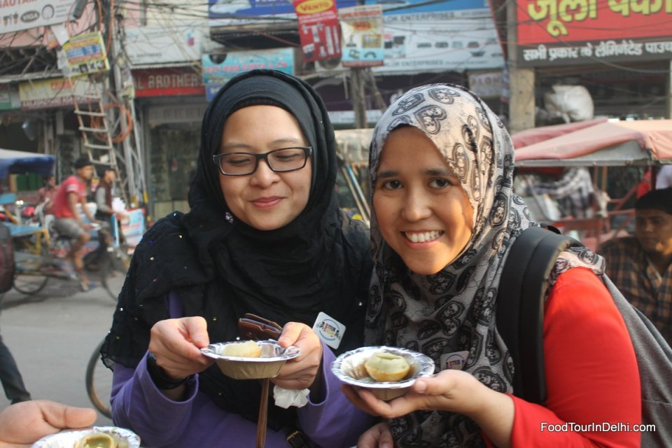 Street food in Old delhi