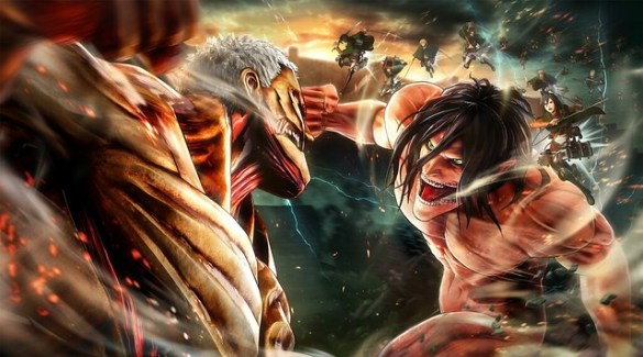 Attack on Titan 2 - Key Art