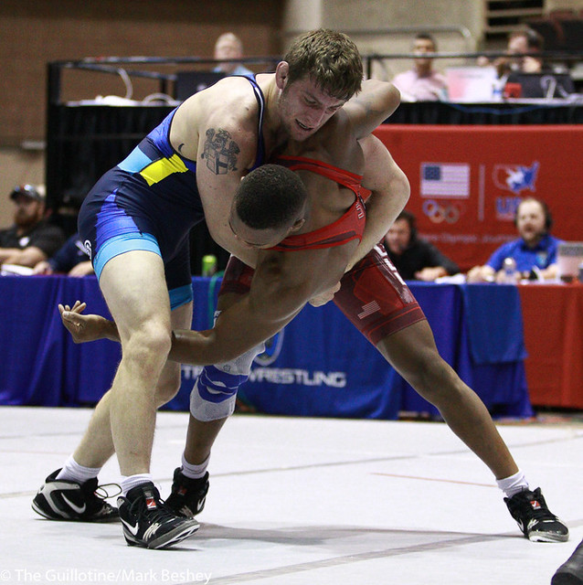 Finals FS 86 KG - Samuel Brooks NYAC/HWC over Myles Martin Ohio State/Ohio dec. 9-5 - 171008mk0139