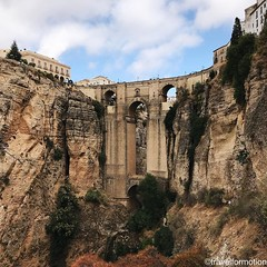 #historic #bridge of #ronda #viveandalucia #andalucia #travel #wanderlust #guardiantravelsnaps #tourism #spain #loves_spain #travelgram #espagna #ig_spain #igtravel #viveandalucia #visitspain #exploring #bbctravel #lonelyplanet